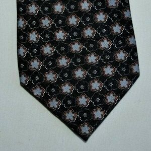 Jos A Bank Men's 100% Silk Black Neck Tie